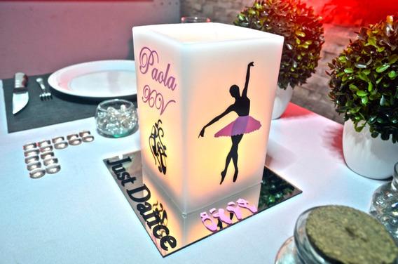 Centro De Mesa Xv Años Ballet Rosa