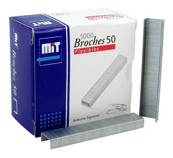 Broches Mit Para Abrochadora Nº 50 X 5000 Unidades