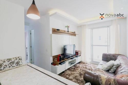 Imagem 1 de 29 de Apartamento Com 3 Dormitórios À Venda, 60 M² Por R$ 386.000,00 - Vila Homero Thon - Santo André/sp - Ap3180