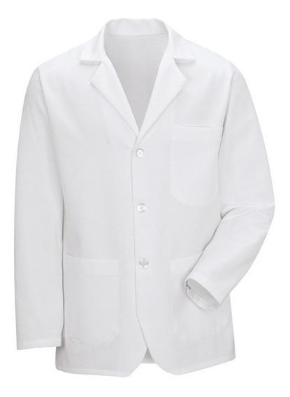 Saco Corto Color Blanco Para Hombre Red Kap 65% Poliester