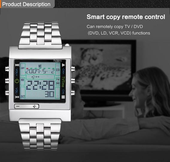 Relógio Tvg Tv2011 Aço Inox Quartz E Digital