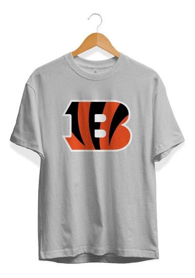 Remera Futbol Americano Nfl Cincinnati Bengals Gris