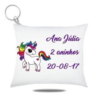 100 Almochaveiro Personalizado Unicornio Festa Pijama