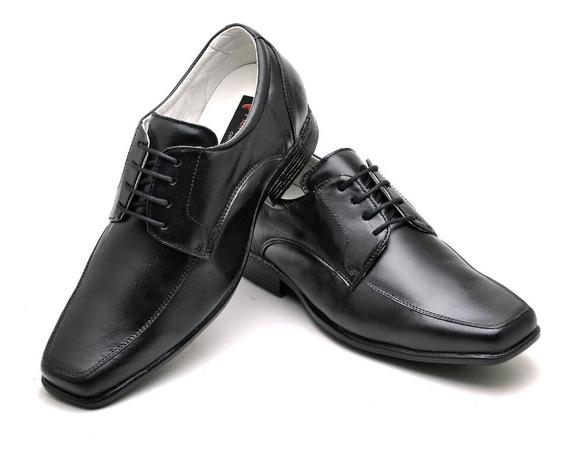 Sapato Masculino Antistress 100% Couro Ranster 020 37 Ao 48