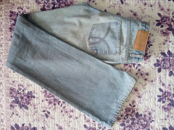 Calça Jeans M.officer Claro Tamanho 34