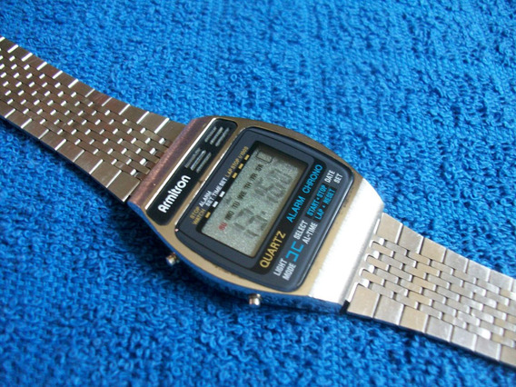 Armitron Reloj Digital Vintage Retro Alarma Coleccion