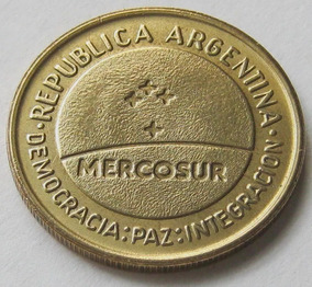 Argentina 50 Centavos 1998 - Mercosur - Sin Circular