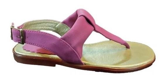 Sandalia Tipo Ojota Chatita | Varias (124)