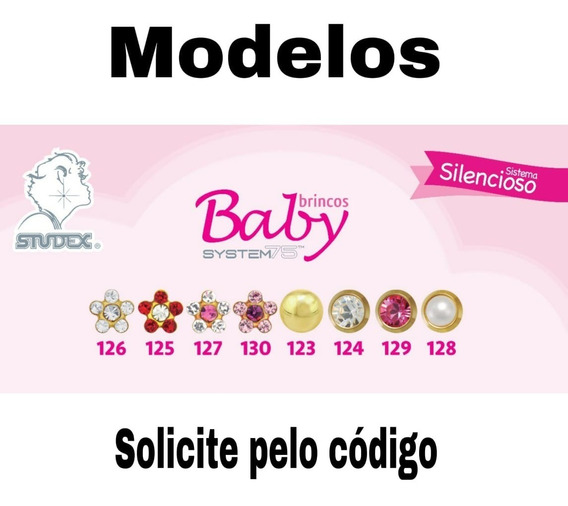 Brincos Studex Baby System 75