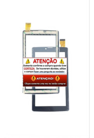 Touch Tela Vidro Tablet 3g How Max Quadcore Ht-704 G Ht705 G