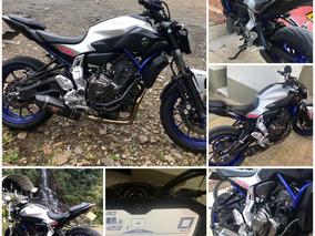 Motocicleta Yamaha Mt 07