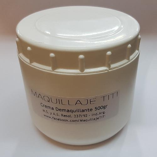 Crema Desmaquillante Maquillaje Titi Pote 500gr