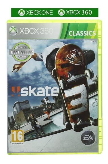 Skate 3 Xbox One 360 Novo Nota Fiscal