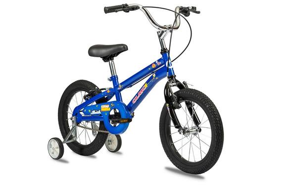 Bicicleta Nene Olmo Rod16 Cosmo Nautas Rueditas Envio Gratis