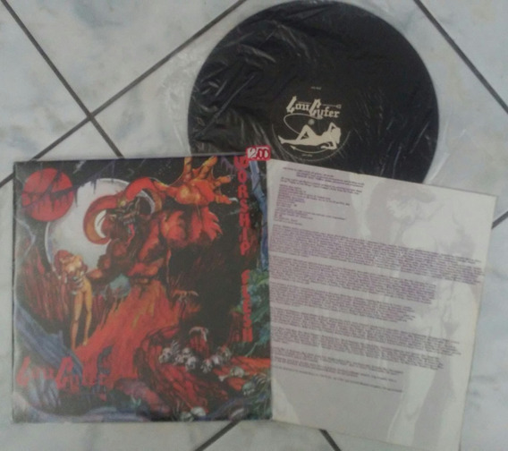 Lp Loucyfer Worship Flesh Cogumelo Black Metal Raro! Leia