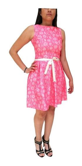 Vestido Primaveral Color Alegre Corte Lindo Para Princesas