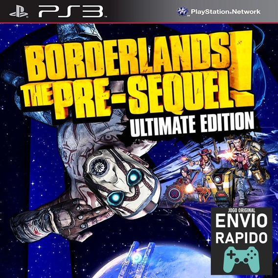Borderlands The Pre Sequel Ultimate Todas Dlcs - Jogos Ps3