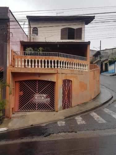 Sobrado Em Vila Ana, Mauá/sp De 189m² 3 Quartos À Venda Por R$ 420.000,00 - So765023