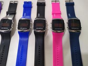 Relógios Kit Com 10 + Caixas Atacado Revenda Led Digital