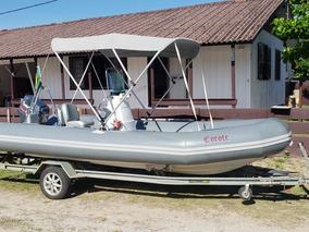 Bote Inflável Nautiflex Sl 550 90hp Yamaha (flexboat, Zefir)