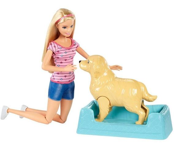 Barbie Filhotinhos Recém Nascidos Boneca Barbie Cachorrinhos
