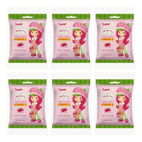 Nutriex Moranguinho Suplemento De Vitamina C 25g (kit C/06)