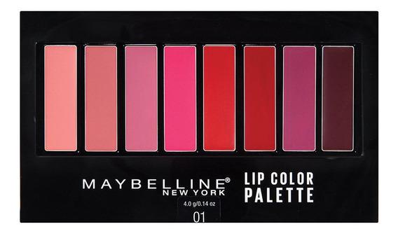 Paleta De Labiales Lip Color Palette Maybelline