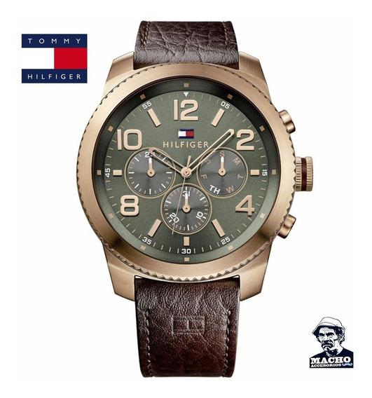 Reloj Tommy Hilfiger Graham 1791109 En Stock Original Caja