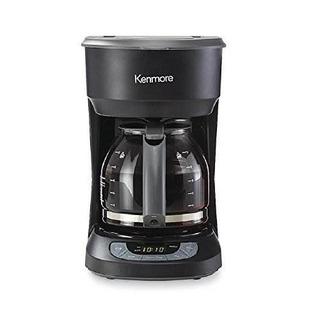 Cafetera Programable De 12 Tazas Kenmore - Negro