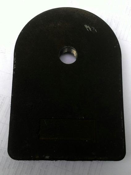 Base Suporte De Microfone Antigo Ferro(tipo De Mesa) Õtima