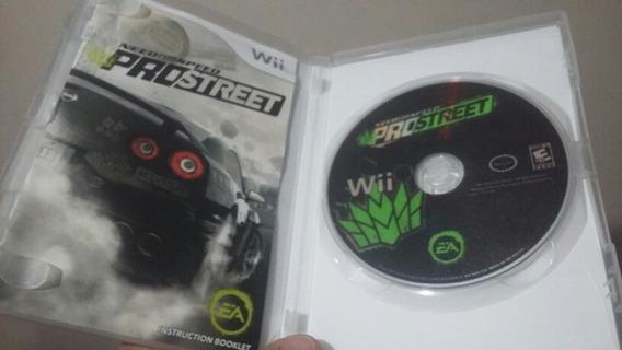 Jogo Wii Need For Speed Pro Street Completo Original Encarte