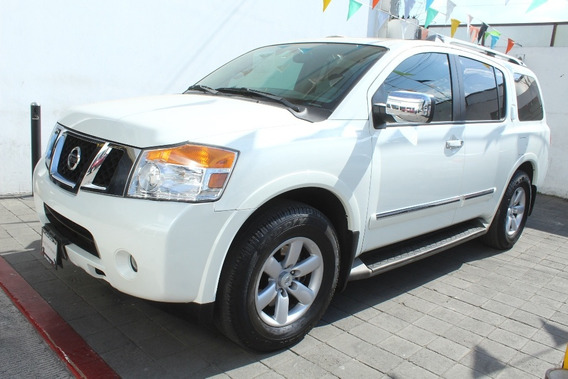 Armada 5.6l Advance Aut Blanco 2013