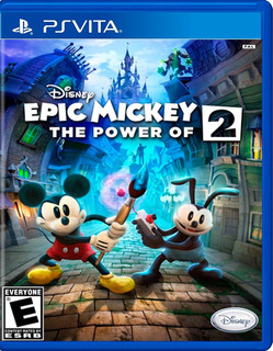 Epic Mickey 2 The Power Of Two Psvita