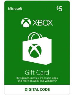 Tarjetas Xbox $5 - $100 Gif Card Usa