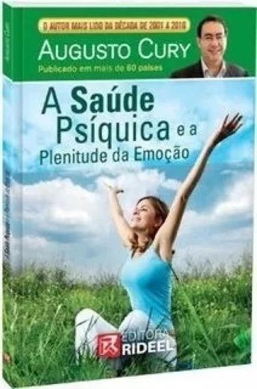 Livro A Saúde Psíquica E A Plenitude Da Emoção C/ Dvd