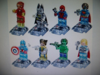 Super Heroes Figuras Armables A Escoger Kikkoman65