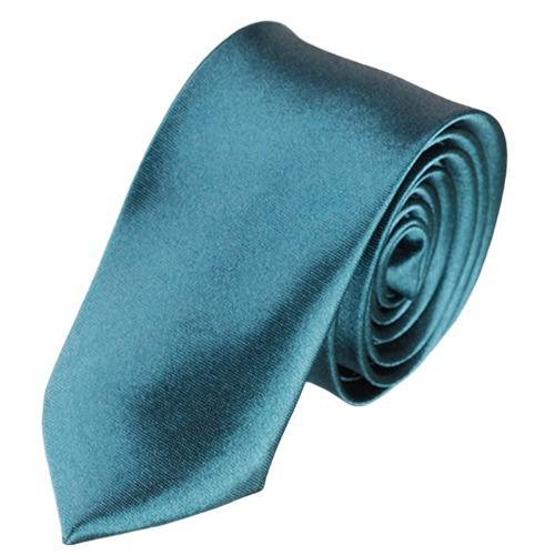Corbata Juvenil Lisa Slim Adulto Hombre Mujer Varios Colores