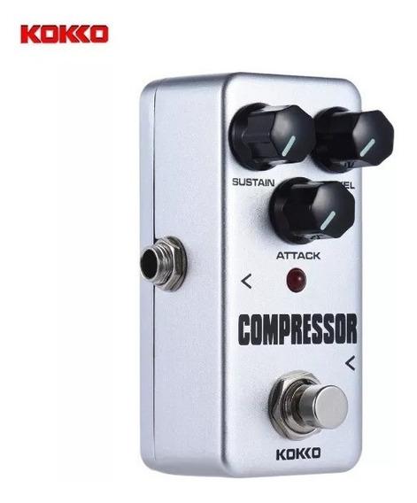 Mini Pedal Kokko Compressor G8 Sustein Similar Boss Mxr