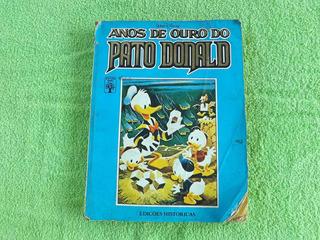 Livro Hq Gibi Anos De Ouro Do Pato Donald Edições Históricas