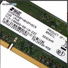 Memória Notebook Ddr3 2gb Smart Sh564568fh8nzphscr