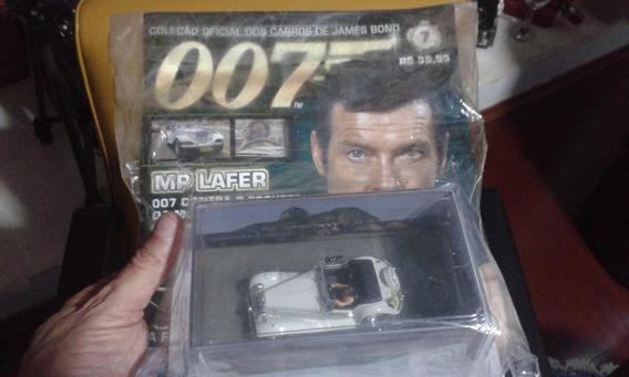 Mp Lafer Miniatura 007 Embalagem Lacrada Com Revista