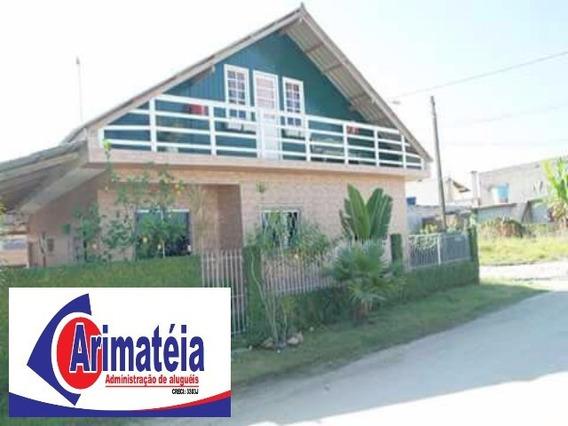 Casa Em Itapema - 4 Dormitórios - Área De Festas Com Lago, Piscina E Churrasqueira. - 0575 - 31947515