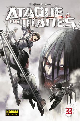 Imagen 1 de 6 de Shingeki No Kyojin Attack On Titan Ataque A Los Titanes #33