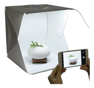 Caja De Luz Lightbox Softbox Led 40x 40 Fotografia Con Leds