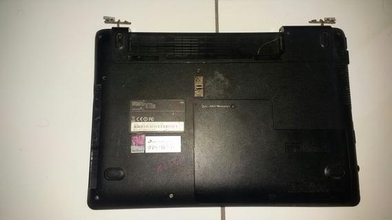 Carcaça Inferior E Base Sem Teclado Samsung Np275