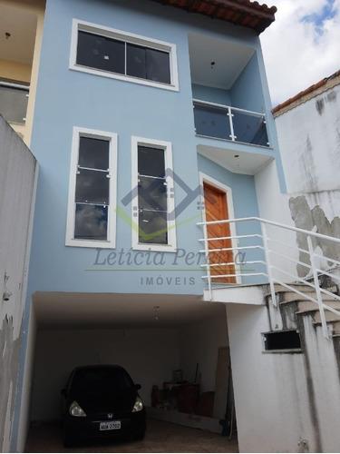 Sobrado Novo 3 Dormitórios Mogi Das Cruzes Jardim Camila - So00102 - 69443540