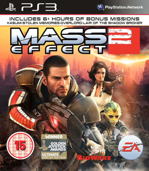 Jogo Mass Effect 2 Playstation 3 Ps3 Mídia Física Bioware