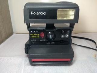 Polaroide Câmera Fotográfica Antiga Americana Anos 90