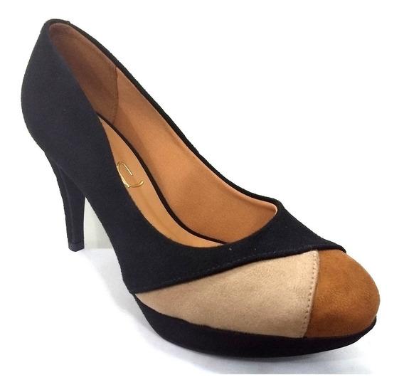 Zapatos De Vestir Con Taco Massimo Chiesa Imperia