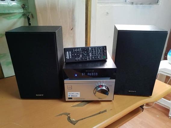 Mini Equipo De Sonido Marca Sony Bluetooth Usb Coge Cd Co